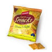 RICE&CORN SNACKS CHEESE 25G